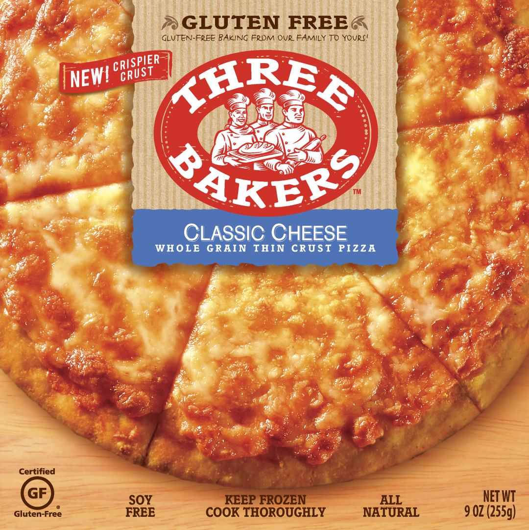 three bakers gluten free cheese pizza