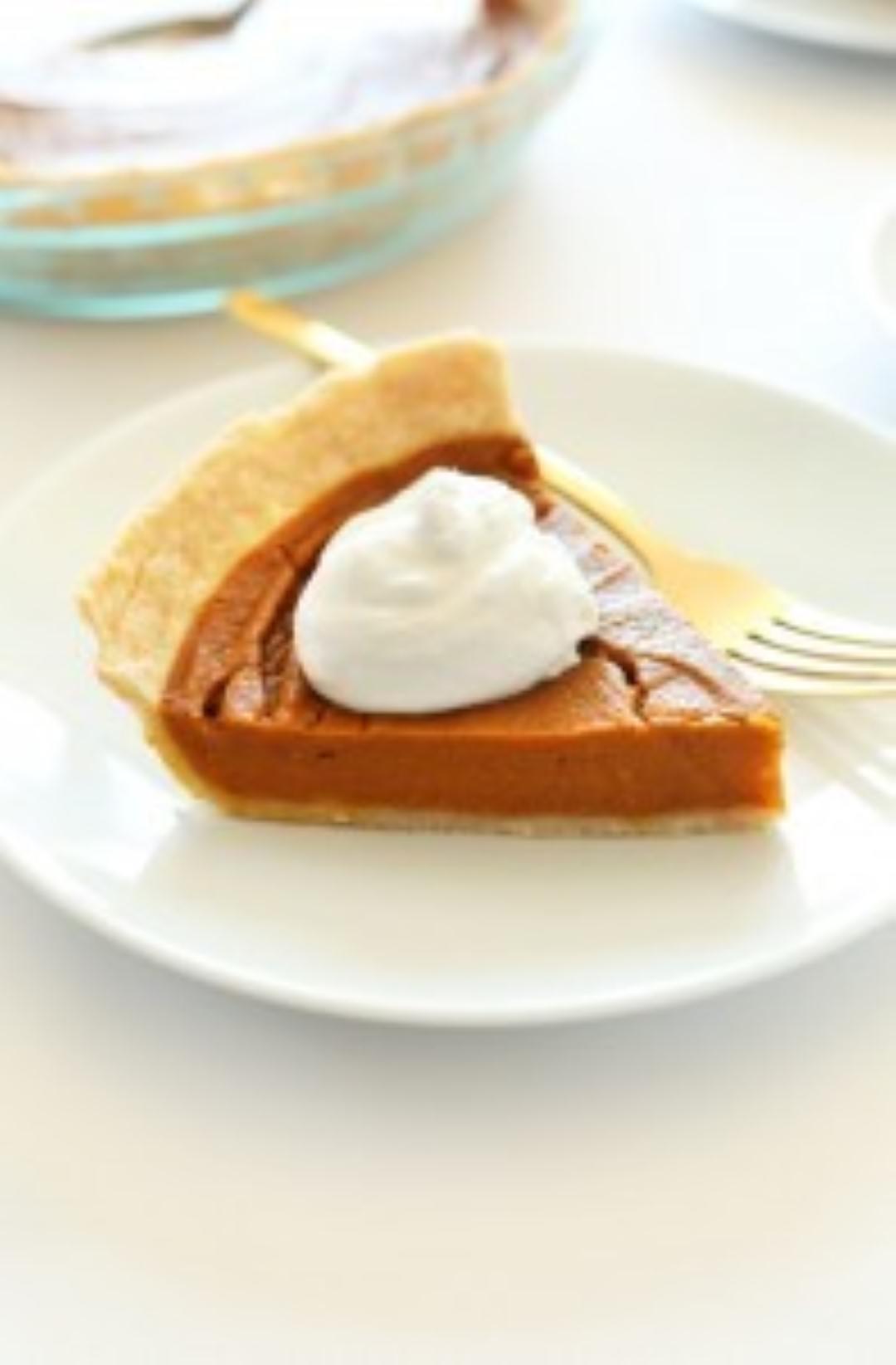 vegan gluten free pumpkin pie
