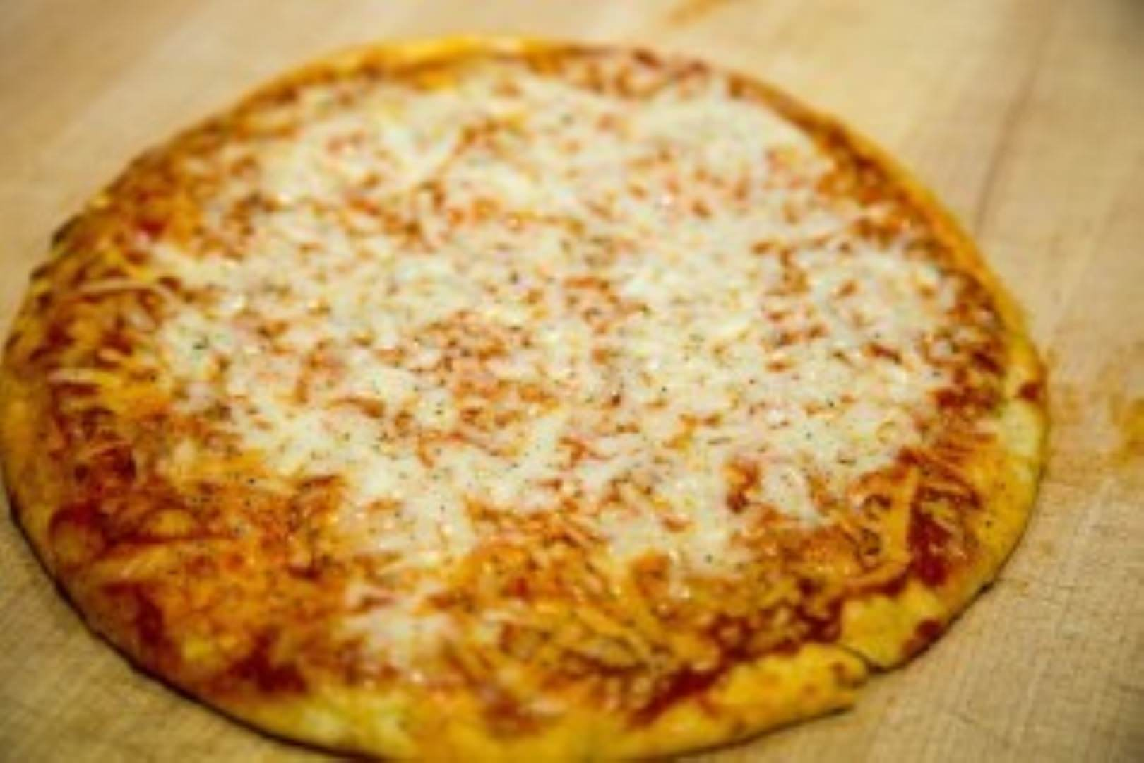 three bakers cheese pizza