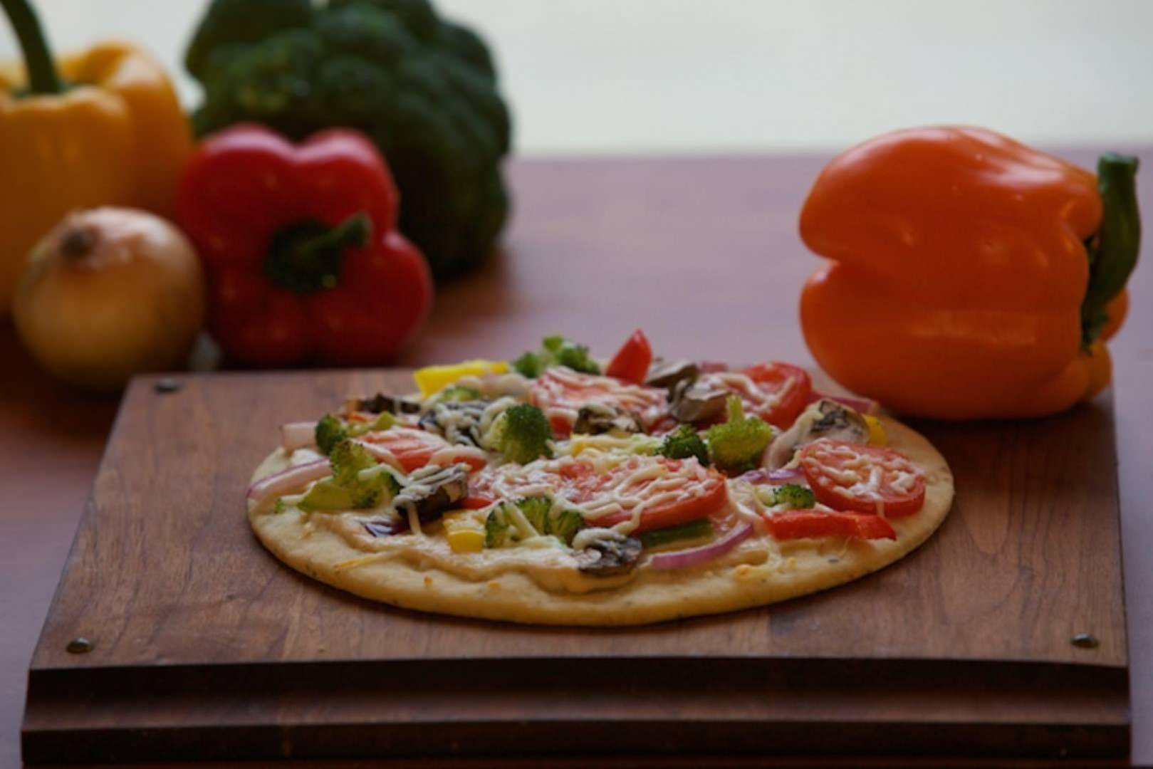 gluten free vegetable pizza