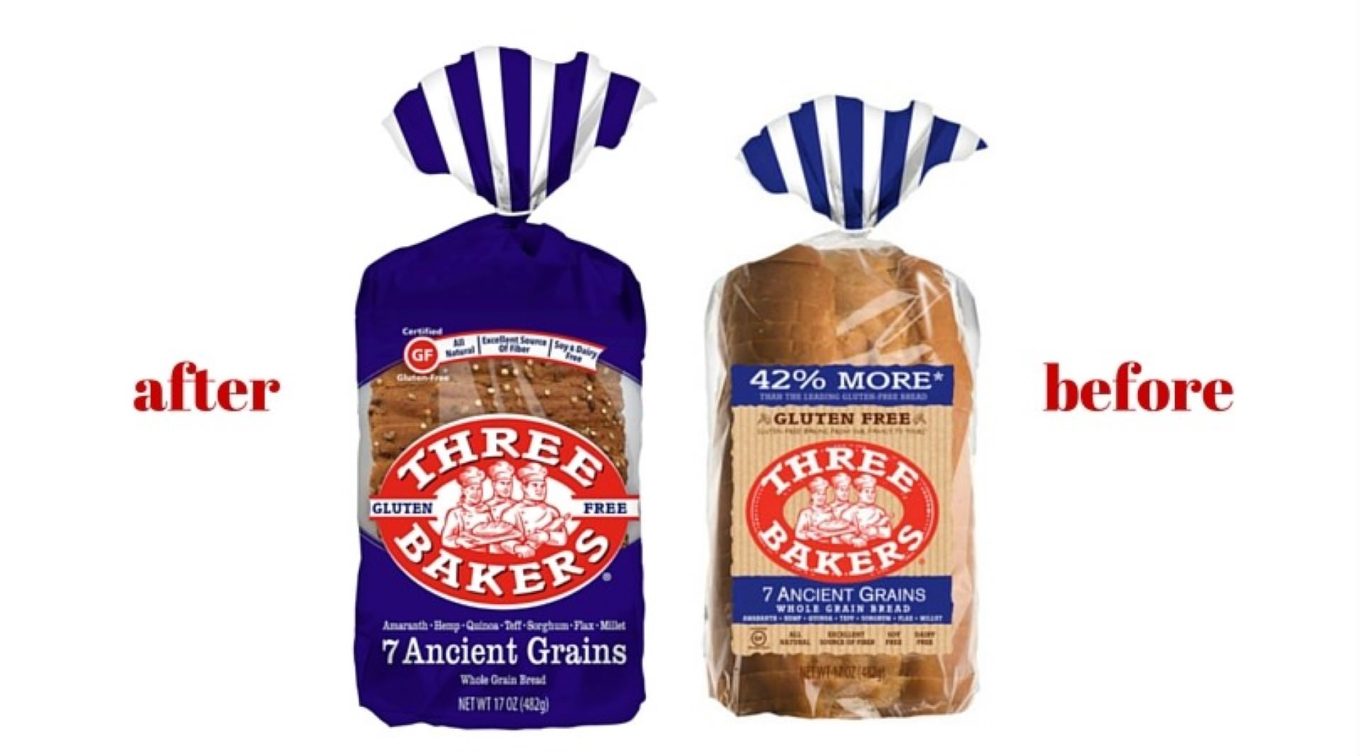 Introducing New Three Bakers Bread Packaging - Three Bakers