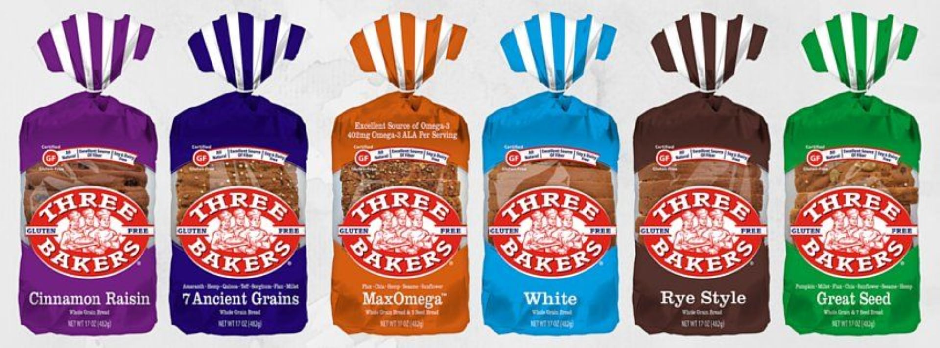 Introducing New Three Bakers Bread Packaging Three Bakers
