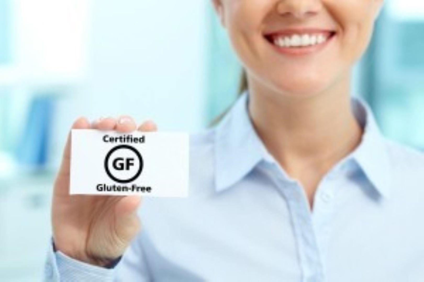 certified gluten free product