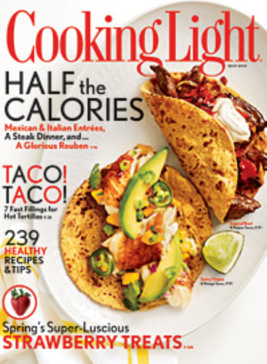 Healthy eating magazines we love three bakers cooking light magazine forumfinder Gallery