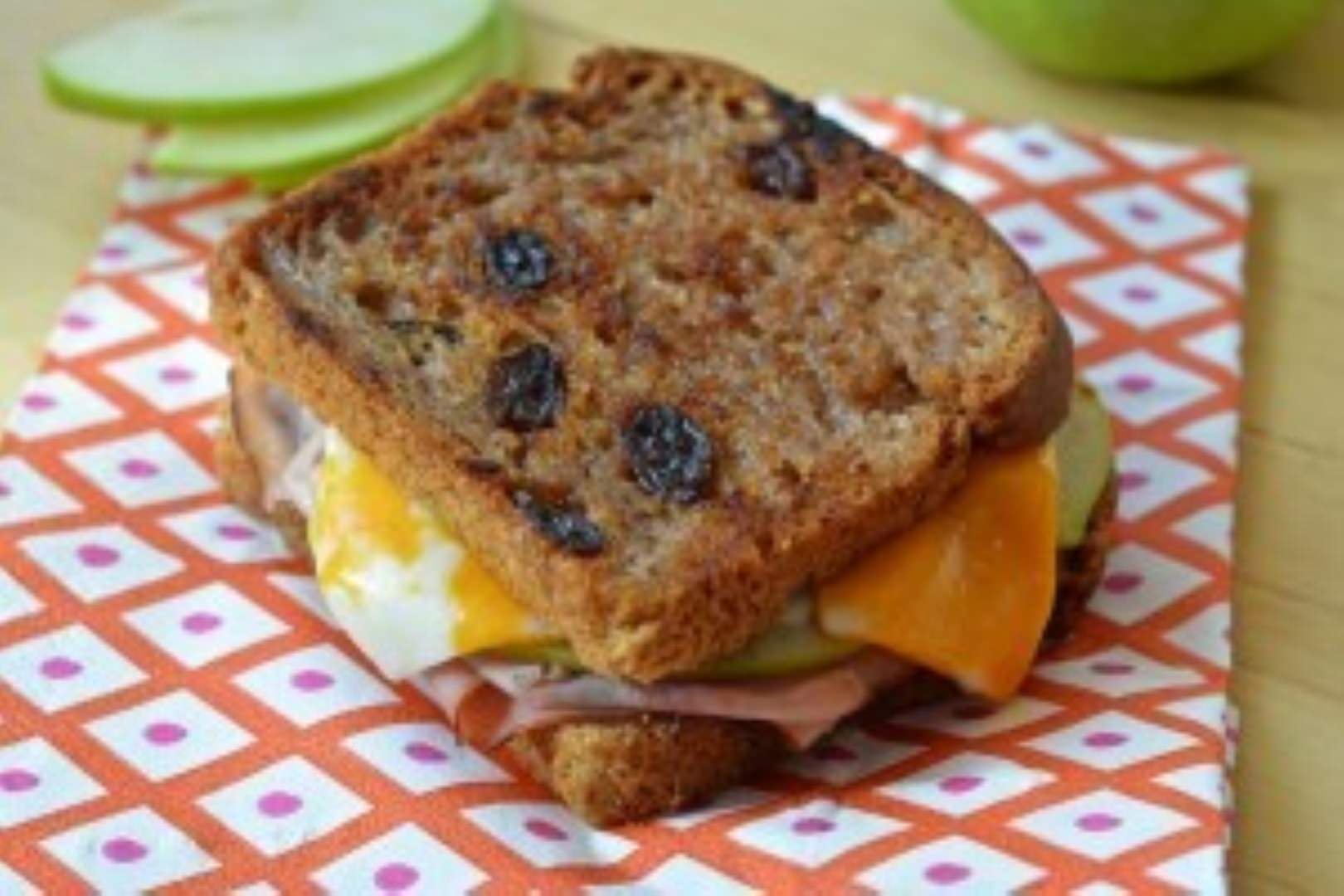 gluten-free sandwiches classic grilled ham apple and raisin