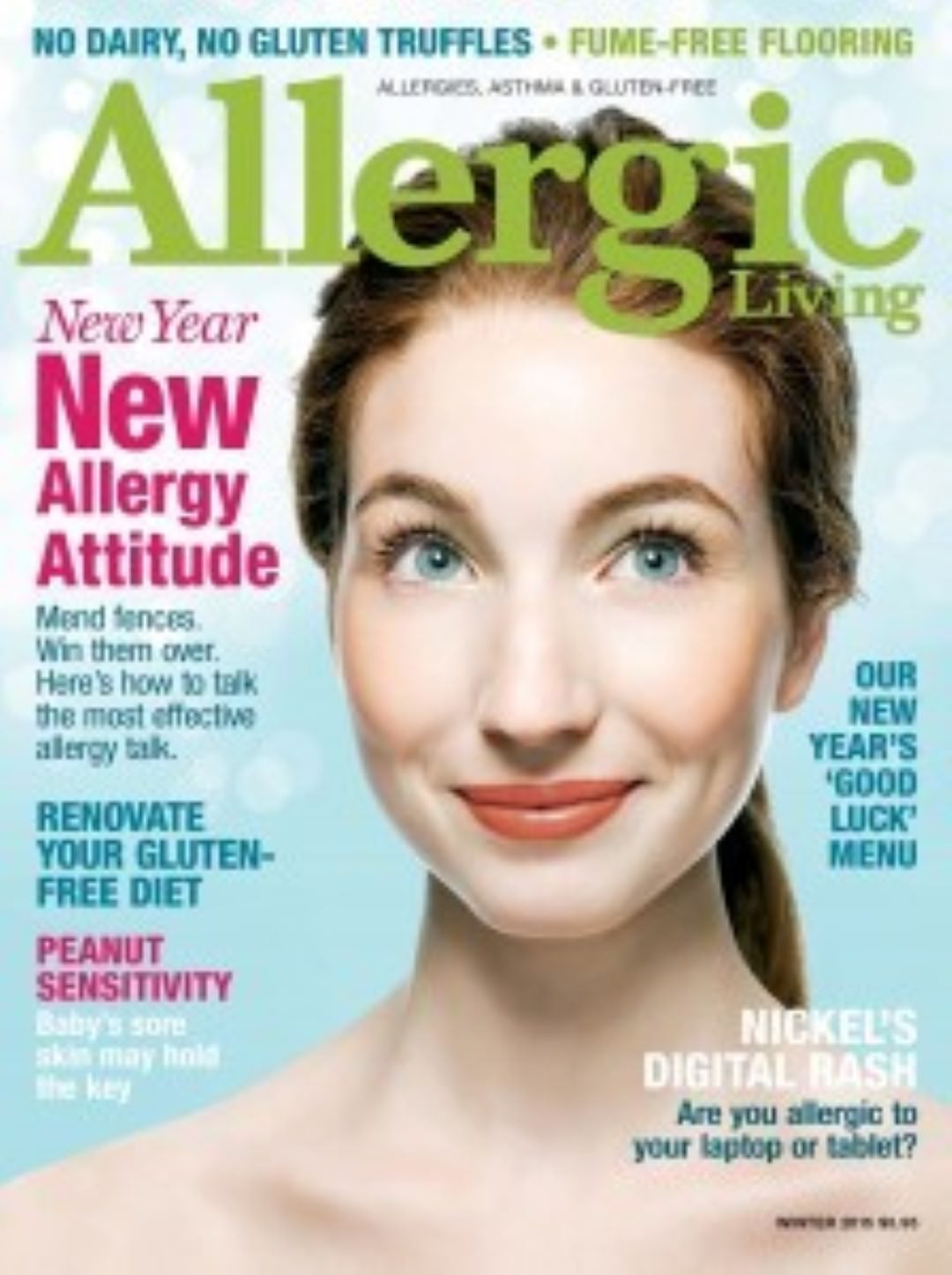allergic living magazine