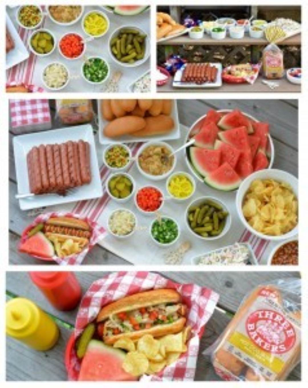gluten free hot dog bar