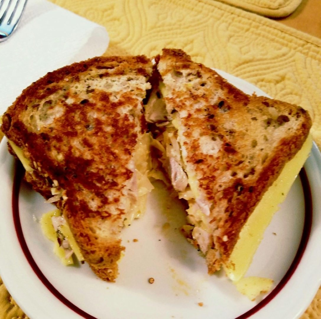 {Recipe Submission} Gluten Free Chicken Reuben