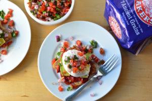 hot breakfast month - baja eggs