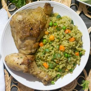 food for celiacs - arroz con pollo
