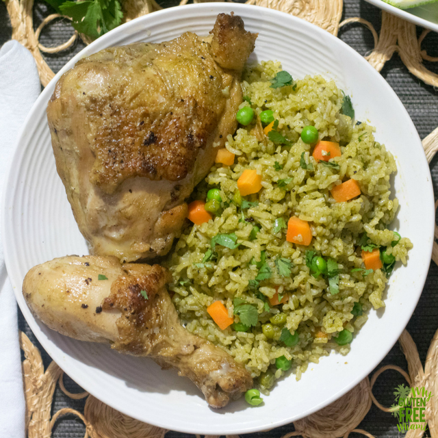 food for celiacs - arroz con pollo