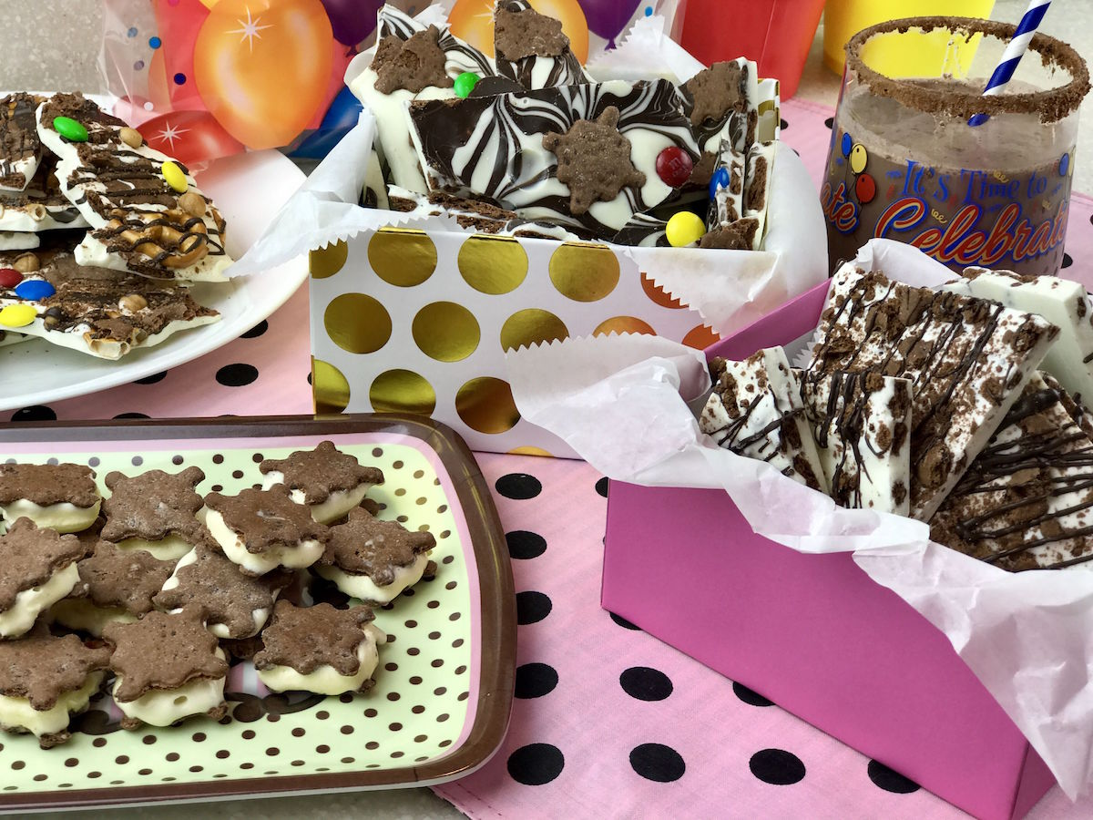 candy bark recipes