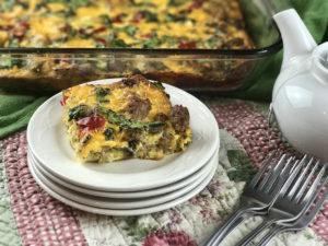 easy easter brunch recipe - gluten free breakfast casserole