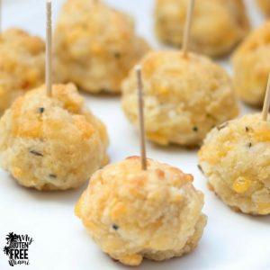 gluten free recipe - sausage balls