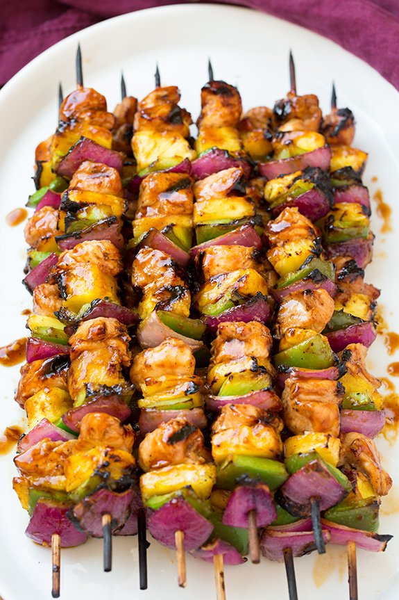 gluten free recipe - chicken kabob