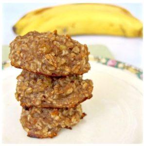 gluten free nibbles banana cookies