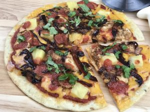 Gluten Free Pizza Recipes - teriyaki chicken