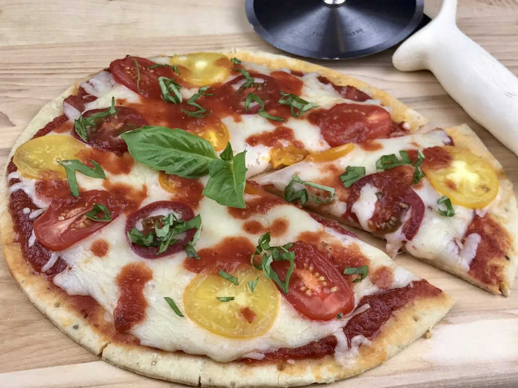 Gluten Free Pizza Recipes - caprese pizza