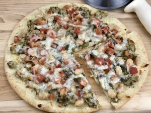 Gluten Free Pizza Recipes - clam pizza