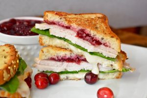 gluten free turkey melt