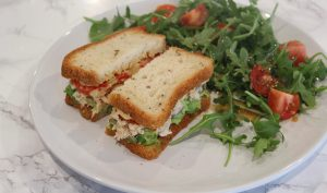 Healthy Gluten Free Tuna Sandwich Recipe