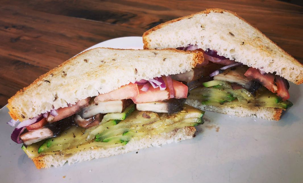 gf sandwich - italian garden