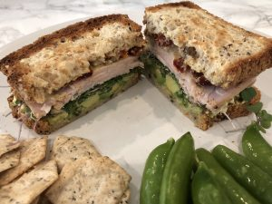 gluten free turkey sandwich