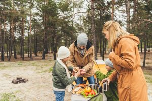 celiac friendly camping