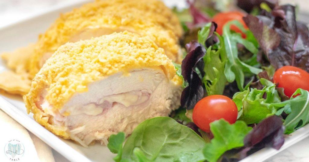 gluten free chicken cordon bleu