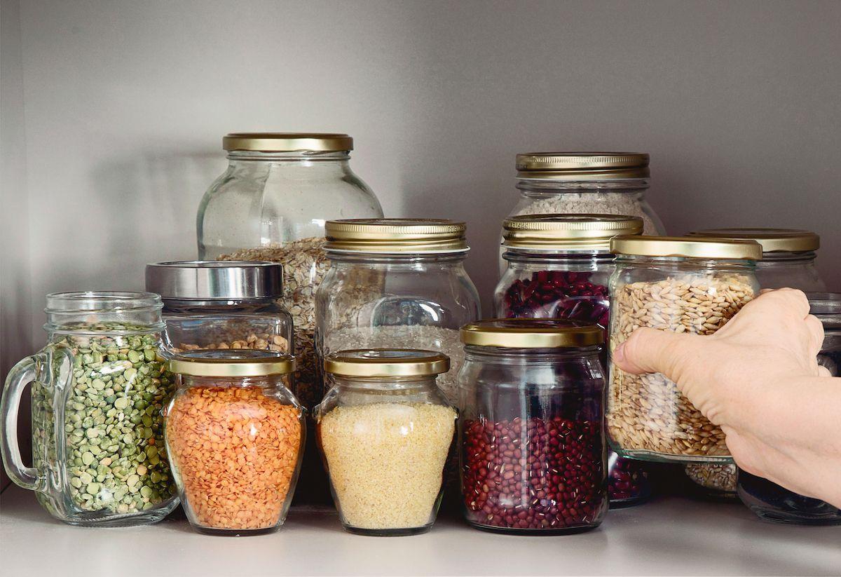 gluten free pantry
