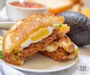 Gluten Free Sandwich Ideas - Mexican Breakfast