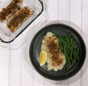 three bakers gluten free recipes crusted salmon