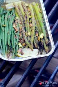gluten free camping dish ideas - asparagus