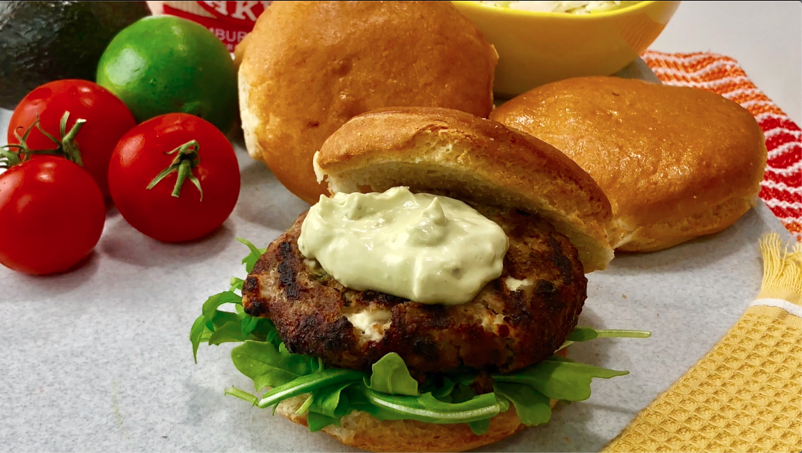 turkey burger gluten free bun