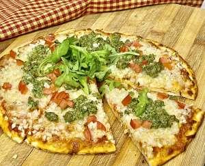 healthy gluten-free pizza