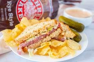 gf recipes - corned beef sandwich